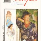 Vintage Pattern Style 1687 Wrap Blouse and Top 90s Size 10 B32.5