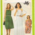 Vintage Pattern Simplicity 8233 Sundress with Shawl 70s Size 12 B34