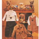 Pattern Vogue 7791 Vogue for Me Toddlers's Coat,Jumper,Top, Pants and Hat Size 1-4 UNCUT