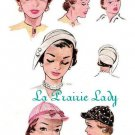Repro Vintage Pattern 3 Hats 50s No 1 on Printable PDF Size Head 21.5 to 22.5