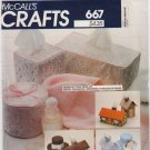 Vintage Pattern McCall's 8316 Decorative Tissue Cover-Ups 80s UNCUT