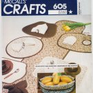 Vintage Pattern McCall's 6622 Table Linen Craft 70s UNCUT