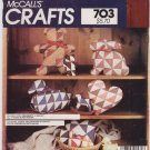 Vintage Pattern McCall's 8775 Patchwork 80s