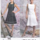Pattern Vogue 2783 DKNY American Designer Dress Size 6-10 UNCUT