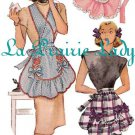 Repro Vintage Full Apron 40's PDF Pattern No 12 Available in M-L-XL