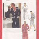 Vintage Pattern Simplicity 9252 Men Wrap Robe 70s Size Med Chest 38