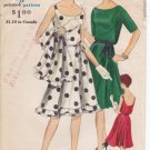 Vintage Pattern Vogue 5287 Dress and Stole 60s Size 12 B32 with Label