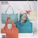 Pattern Simplicity 4625 Bags One Size UNCUT