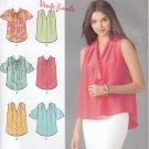 Pattern Simplicity 1661 Tops with Sleeve Variations Size 6-14 UNCUT