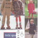 Vintage Pattern Vogue 8457 Little Sport Children's/Girls'/Boys' Coat Size 4-5-6 UNCUT