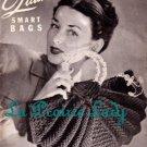 Vintage Quaker Smart Bags 40s Book Pattern Vol XIX for Crochet 24 Models on PDF