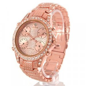 Ice Star Gents Watch Stainless Steel-Rose Coloring-Style 2