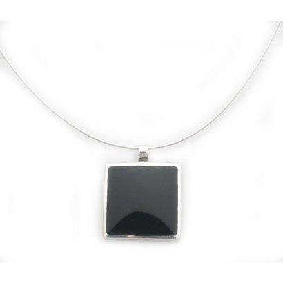 Black Onyx Pendant Necklace
