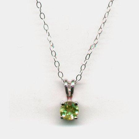 Genuine Peridot Necklace