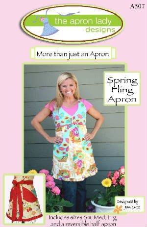 The Apron Lady Spring Fling Apron Pattern