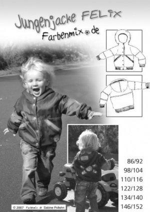Farbenmix Felix Bomber Jacket Pattern