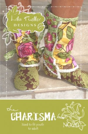 The Charisma Boot by Lila Tueller Designs