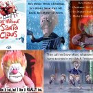 5 HEAT Snow MISER x-mas Holiday Fridge Magnets gift!