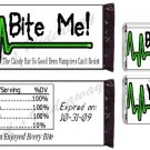 Custom VAMPIRE Party Candy BAR / NUGGET Wrappers UPRINT
