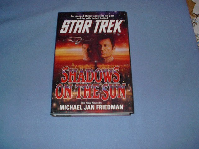 Star Strek Shadows on the Sun by Michael Jan Friedman