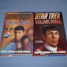 Star Trek Vulcan's heart & Forge by Josepha Sherman & Susan Shwartz