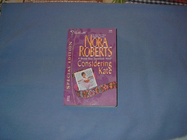 Considering Kate by Nora Roberts  #1379 Febo1