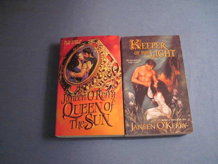 Queen of the Sun & Keeper of the Light by Janeen O'Kerry