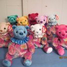 Beanie Babies Bears Jan, Feb, Mar, Apr.July, Sept.Oct, Nove Dec