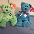 Beanie Babies Bears  Addison, Kicks