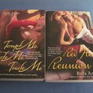 Tempt Me, Taste Me, Touch Me, & Red Hot Reunion by Bella Andre