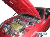92~00 Honda Del Sol Gas Hood Shock Damper Lifter Kit b6
