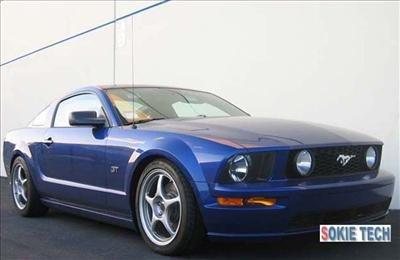 05 06 07 08 Ford Mustang Carbon Fiber Gas Hood Damper j1