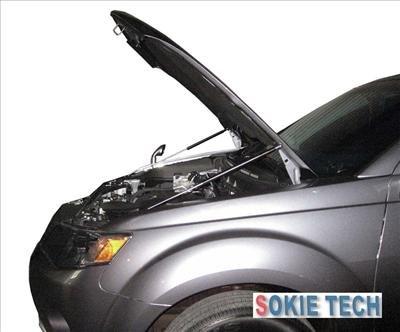08 09 10 Mit.Outlander SUV Carbon Fiber Hood Lifter Damper i3