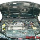 05~08 Ford Mustang Silver Carbon Fiber Gas Hood Damper j1