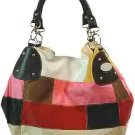 Patchwork Fashion Handbag Multi-color