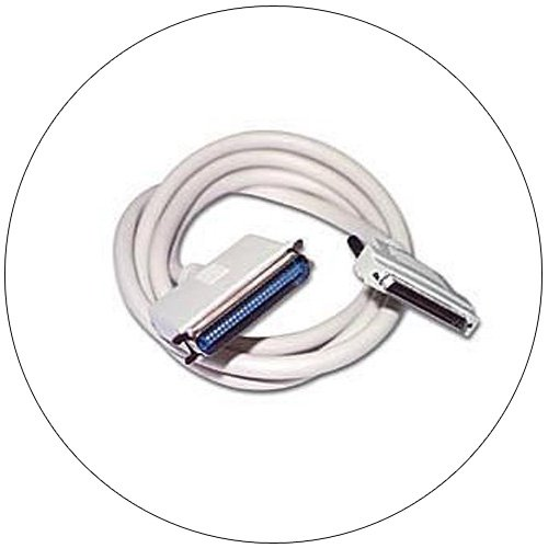 SCSI I (C50) Male To DB-25 Male Cable - 6 Ft. No. 824-2512-551