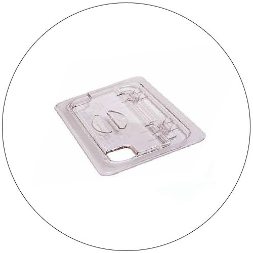 Cambro Food Pan Cover - Clear - 1-6 Size
