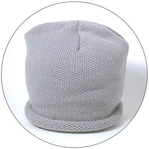 Hat - Plain Knit - Gray