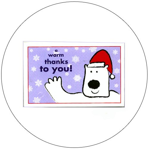 Greeting Thank You Postcards - 12 Ct. - No. MGC208CC - mjZOOM