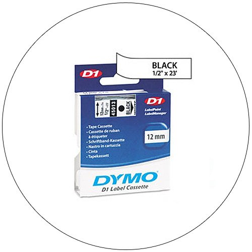 Dymo D1 Standard Tape Cartridge for Dymo Label Makers - No. 45113