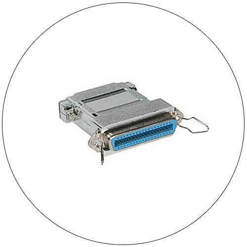 Gender Changer - Parallel Printer Adapter - Centronics 36 Female to DB25 Male