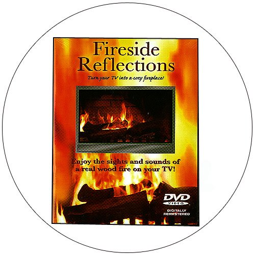 Fireside Reflections - Turn Your TV into a Cozy Fireplace - DVD - 2009