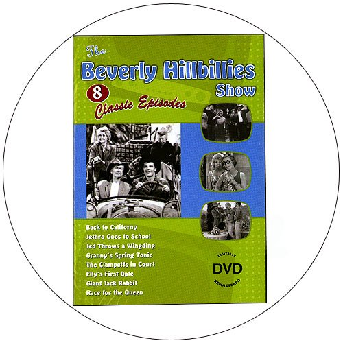 The Beverly Hillbillies Show - 8 Classic Episodes - Digitally Remastered DVD - 2009