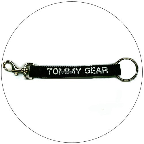 "Tommy Gear � Key Chain - Black - 1/2"""" x 7"""