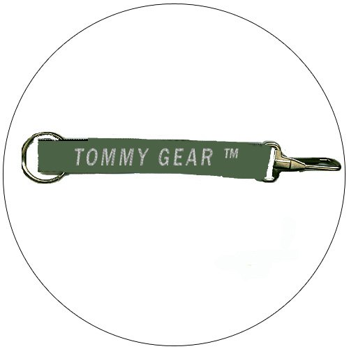 """Tommy Gear � Key Chain - Olive - 3/4"""" x 8-1/2"""""""