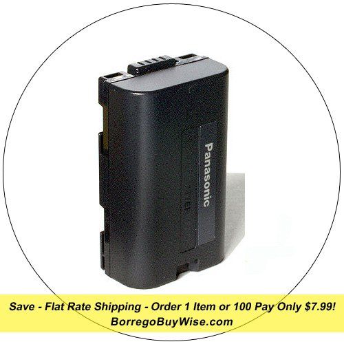 Panasonic Lithium Ion Replacement Battery - Camcorder Battery - Model: CGR-D08
