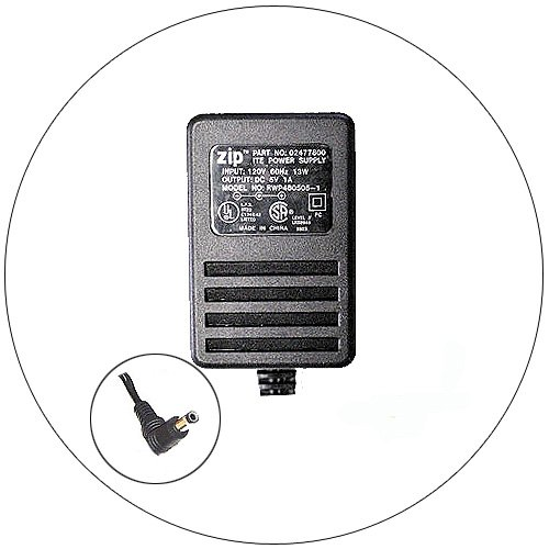 Power Adapter for Zip Drive - P/N 02477800 - Model: RWP480505-1 - (Refurbished)