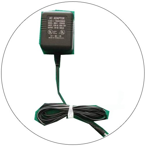 AC Power Adaptor 12VDC/500mA - Model: MW41-1200500 - Yellow - (Refurbished - Good)