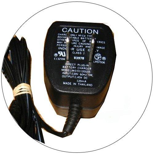 Generic AC Adapter - Model: WD01120S55 1.45V 120mA - (Refurbished - Good)