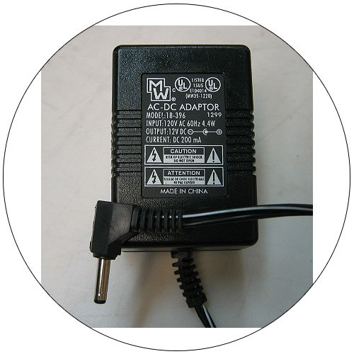 MW AC Power Supply Adapter No. 18-396 (Refurbished)